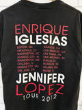 Preloved Music - J Lo and Enrique Black Tee - Medium