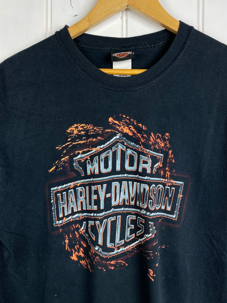 Vintage Harley - Maryland Black Tee - Medium