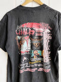 Vintage Music - Taste of Chaos 2005 Faded Black Tee - Medium
