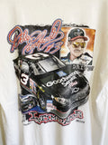 Vintage Nascar - The Man Dale Earnhardt White Tee - XLarge