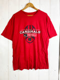 Preloved Sports -  Cardinals Football Red Tee - Large