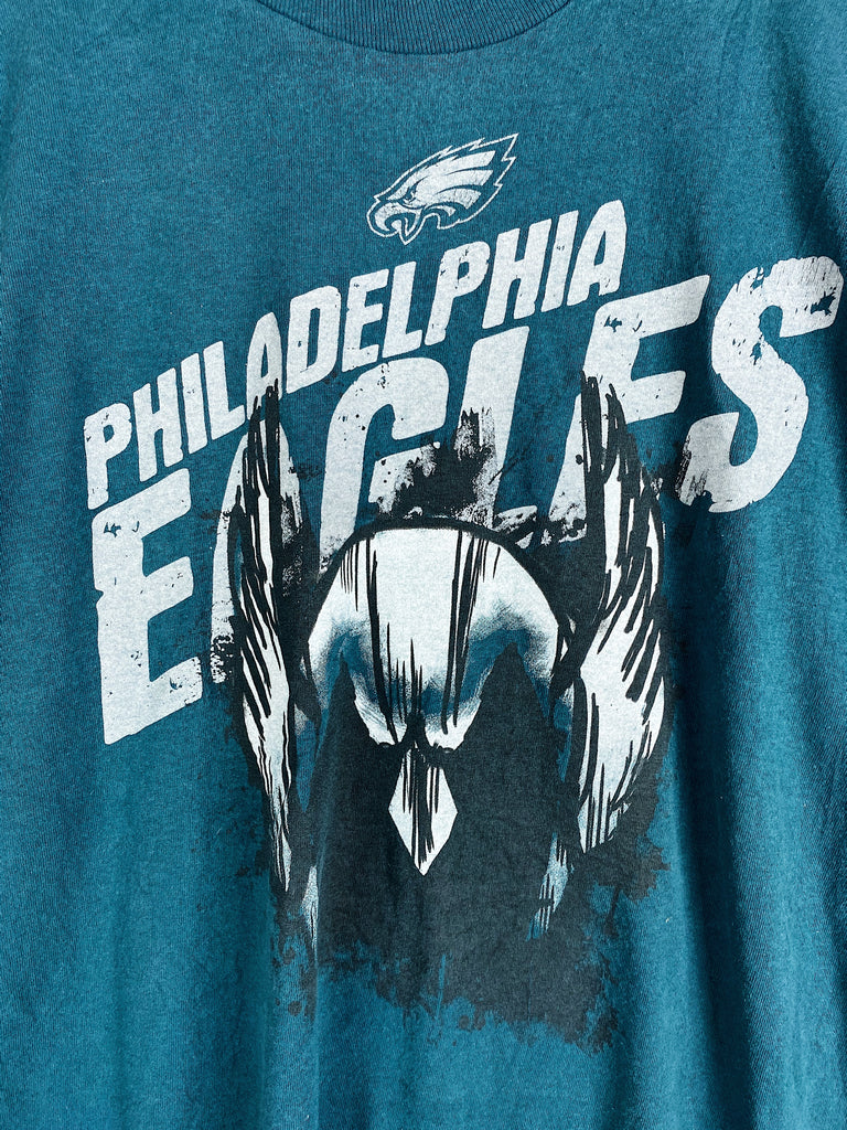 Preloved Sports - NFL Philly Eagles Green Tee - 2XLarge