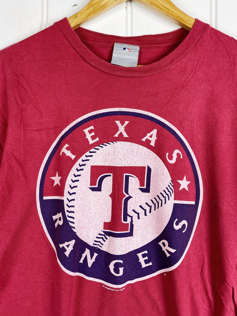 Preloved Sports - MLB Texas Rangers Red Tee - Medium