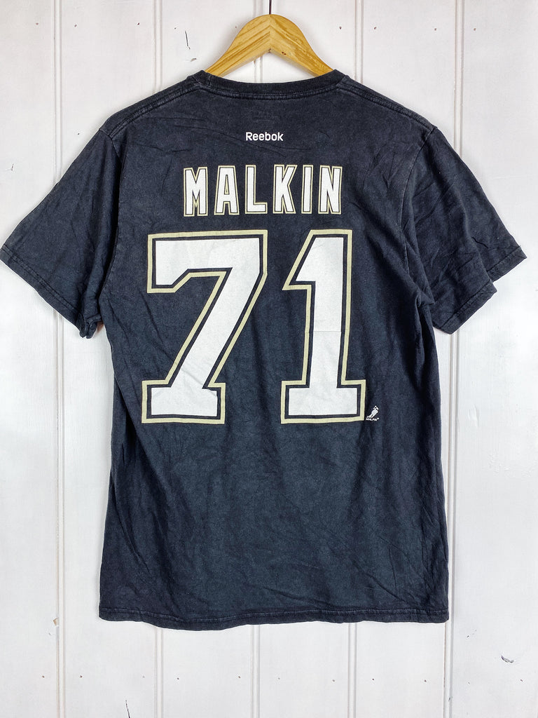 Preloved Sports- NHL Penguins Malkin Black Tee - Medium