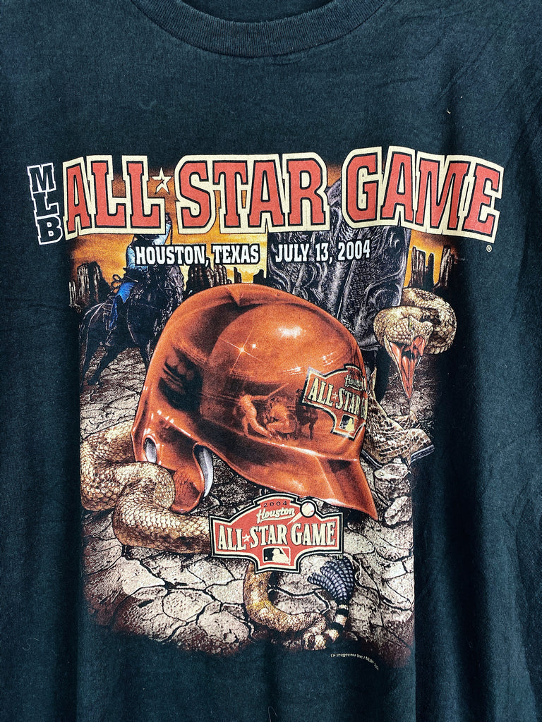 Vintage Sports - MLB 2004 Allstar Game Black Tee - 2XLarge