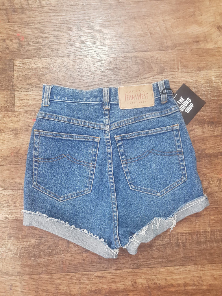 Vintage 90's Jeans West Denim Shorts - Size 9