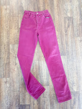 Load image into Gallery viewer, Vintage Maroon Roughrider Jeans - Size 9-10