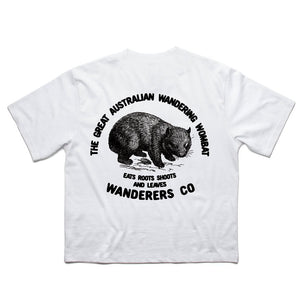 Wombat Crop - White