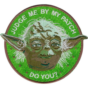 La Barbuda - La Barbuda 'Yoda' Iron On Patch - Patches & Pins - Stock & Supply Stores