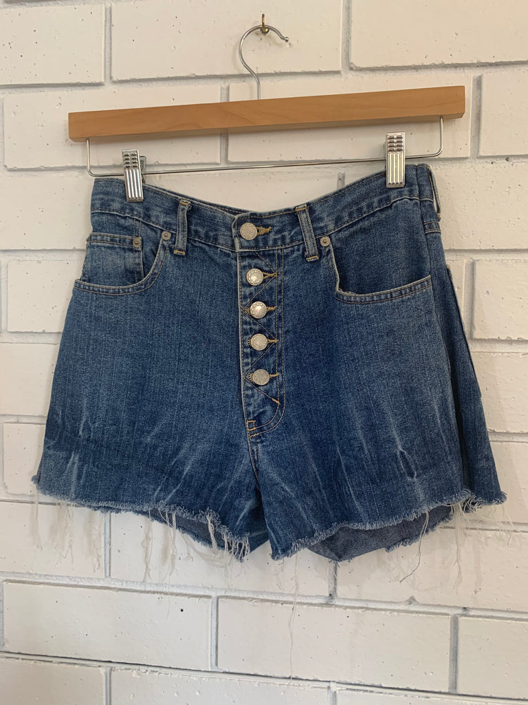 "Vintage ""East Coast"" Denim shorts - Small"