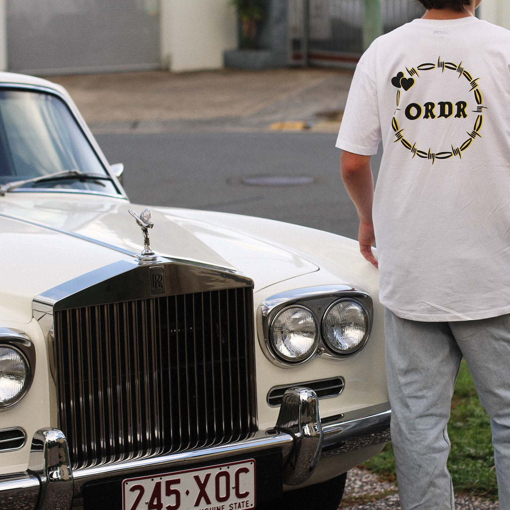 Ordr Co 'Lover - White' Tee
