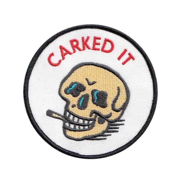 BLC Patches - BLC Patches 'Carked It' Patch - Patches & Pins - Stock & Supply Stores