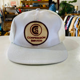 Vintage Hat Compression Services Trucker Cap
