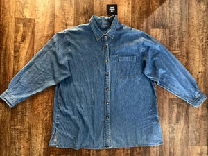 Pre-loved Denim Shirt - Large