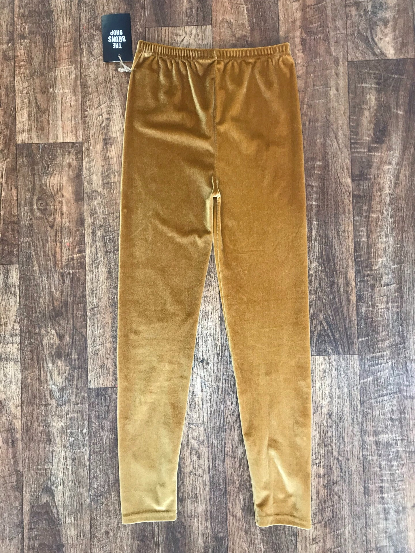 Pre-loved Velvet Leggings - XSmall