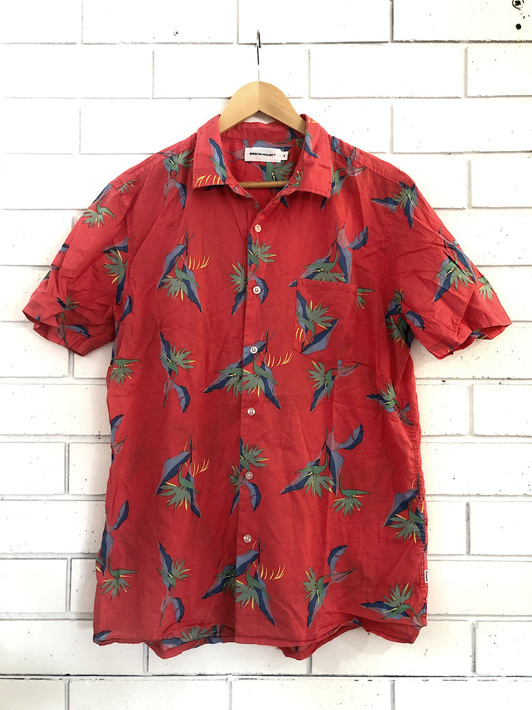 Preloved Spencer Project Hawaiian Shirt | Size M