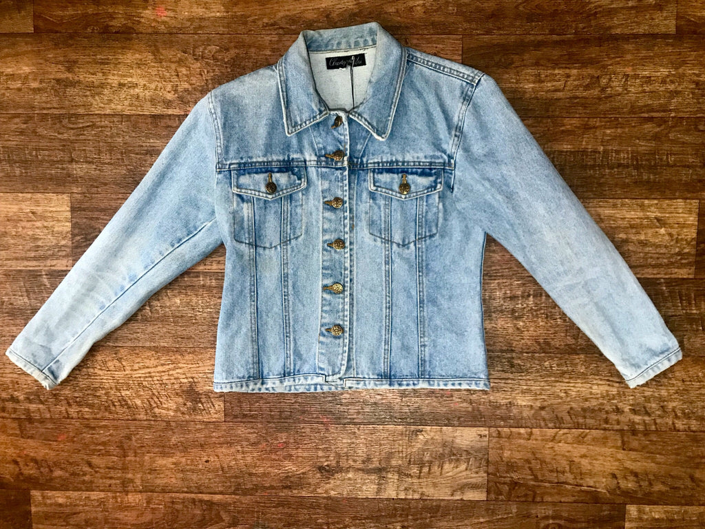 Pre-loved Christopher Ari Denim Jacket - X-Small