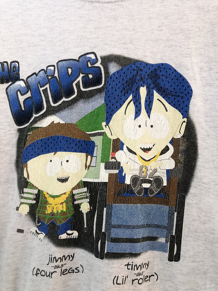 Vintage South Park The Crips Tee | Size XL