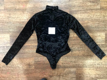 Load image into Gallery viewer, Pre-loved Velvet Bodysuit- XSmall