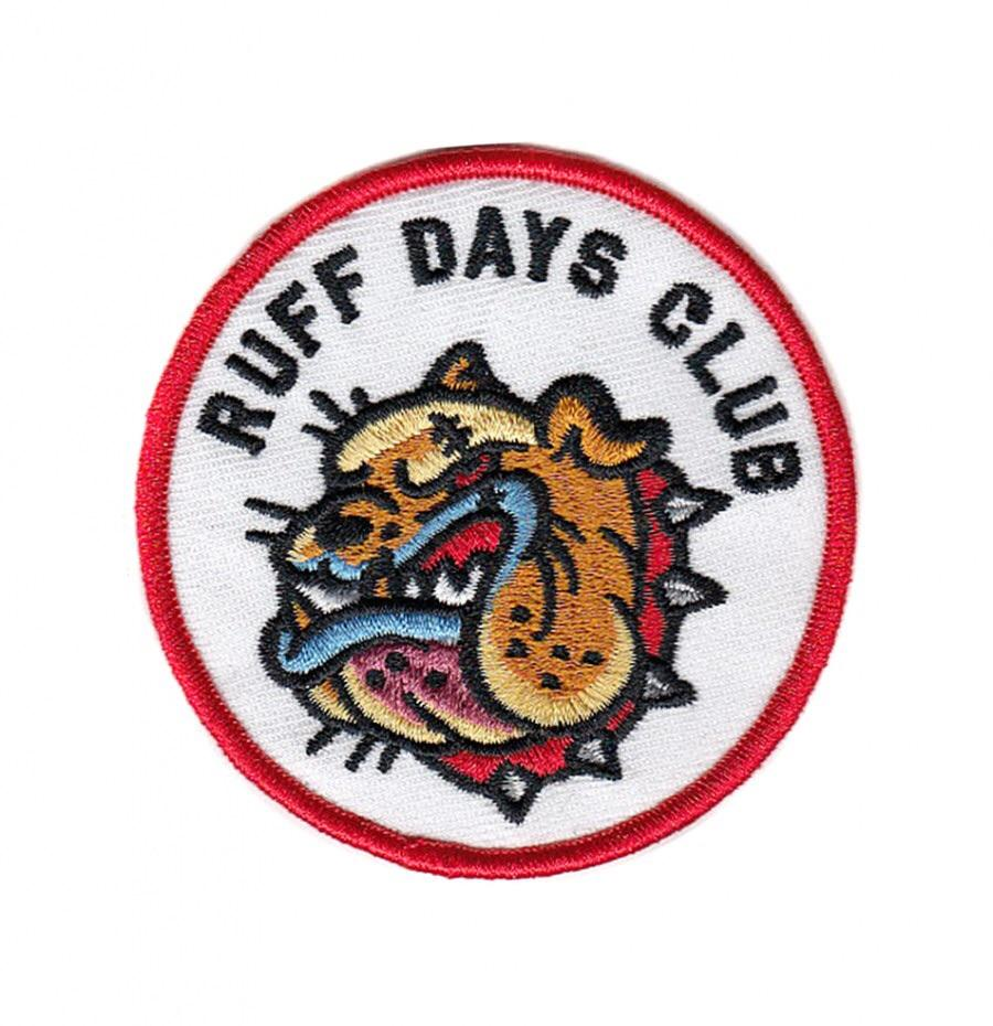 BLC Patches - BLC Patches 'Ruff Days Club' Patch - Patches & Pins - Stock & Supply Stores