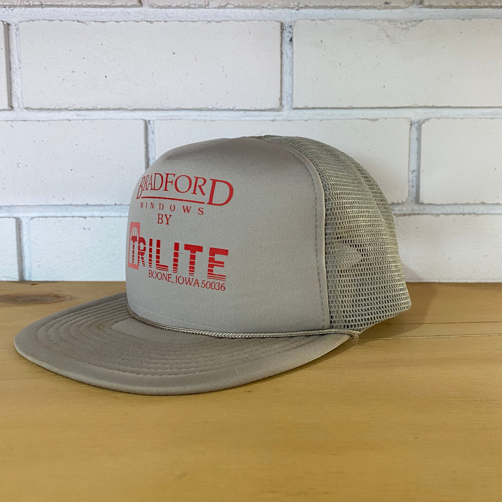 Vintage Hat Bradford Window Trucker Cap