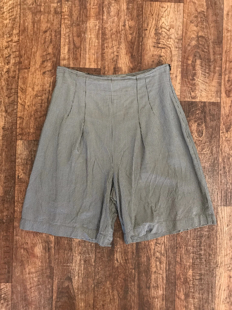Sport max Gingham Vintage Shorts - size 10