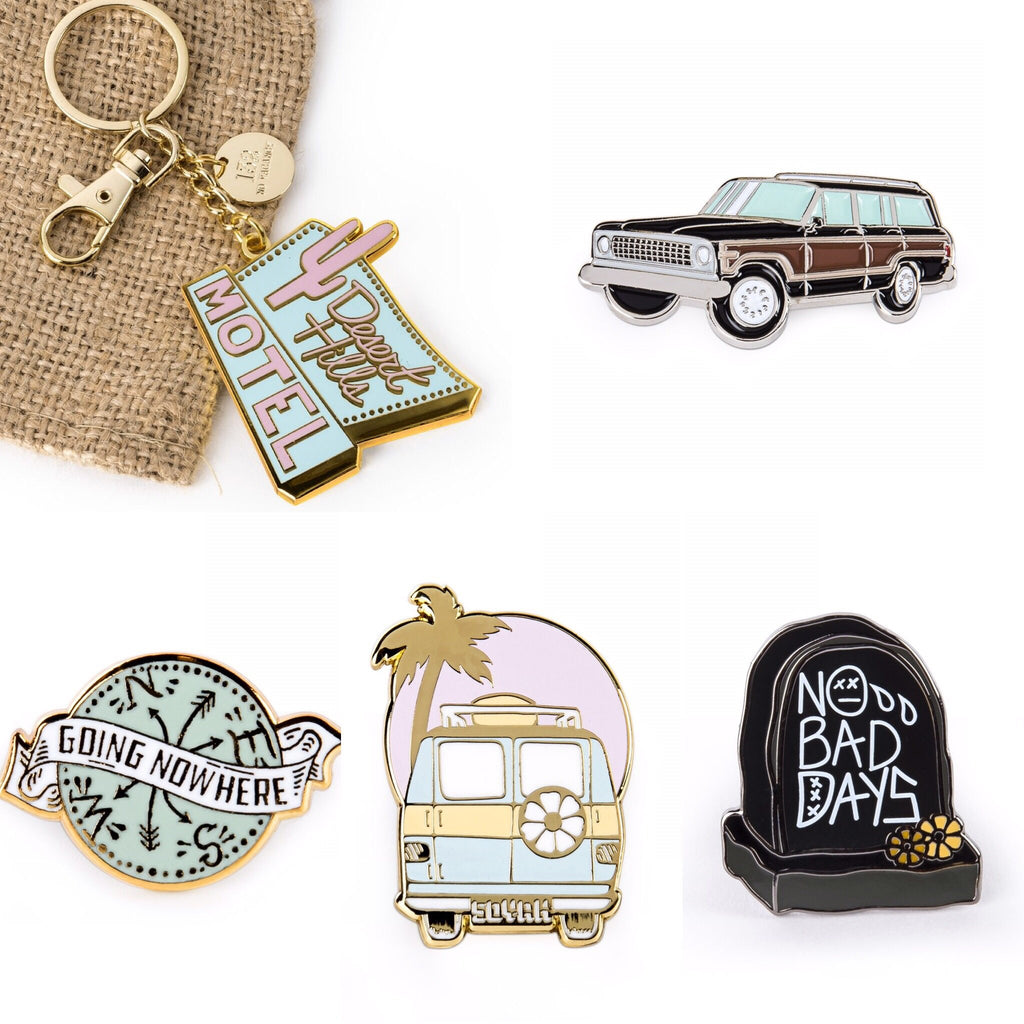 Soyah Press 'Weekend Wagon' Badge Pin
