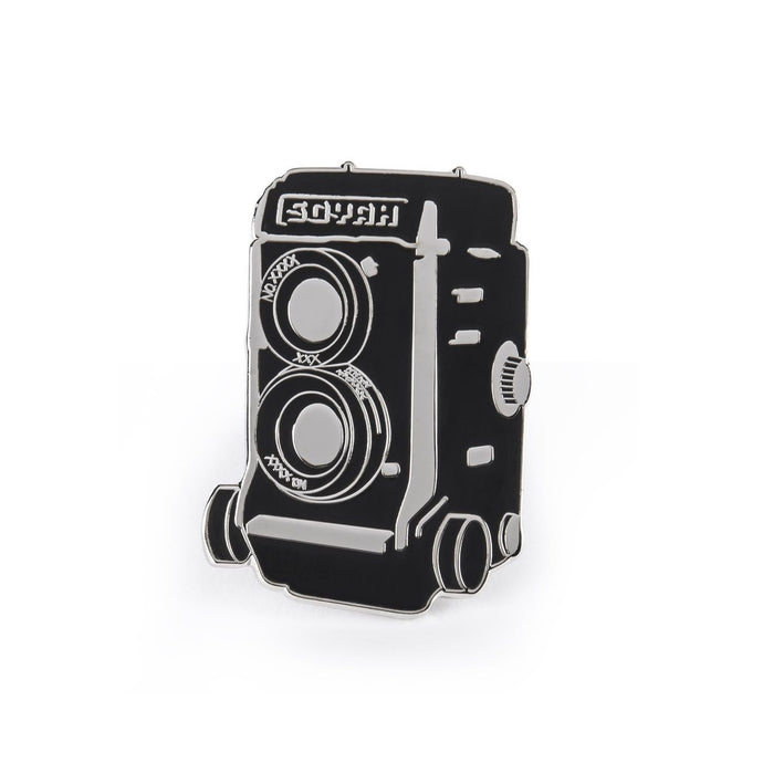 Soyah Press 'Vintage Camera' Badge Pin