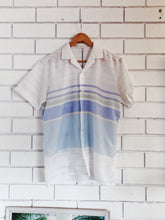 Load image into Gallery viewer, Vintage Beach Stripe Shirt Medium
