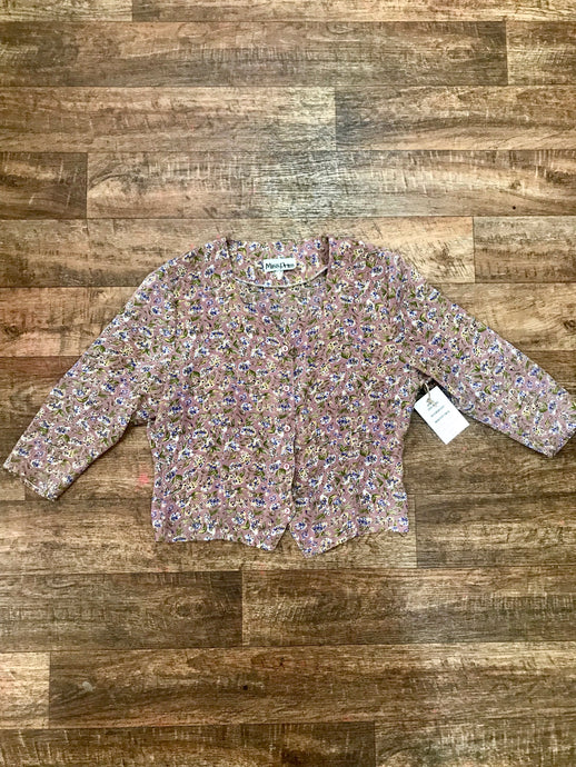 Vintage Miss Prim Floral Shirt - S/Medium