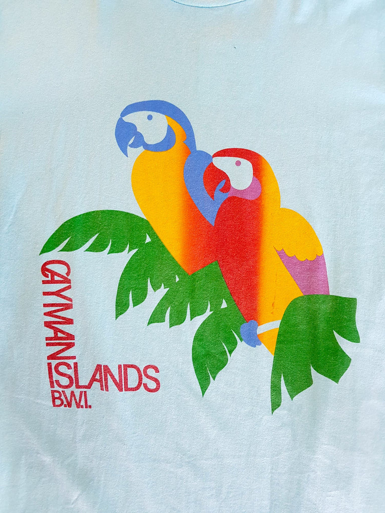 Vintage Cayman Islands Oversize Tee - Medium