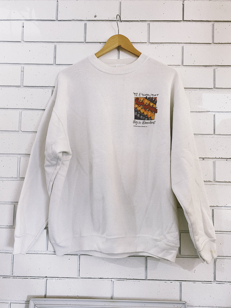 Vintage '92 Bay to Breakers Crew Neck Sweater - X-Large