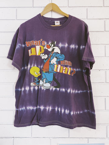 Vintage Looney Tunes What's Up T-Shirt - X-Large