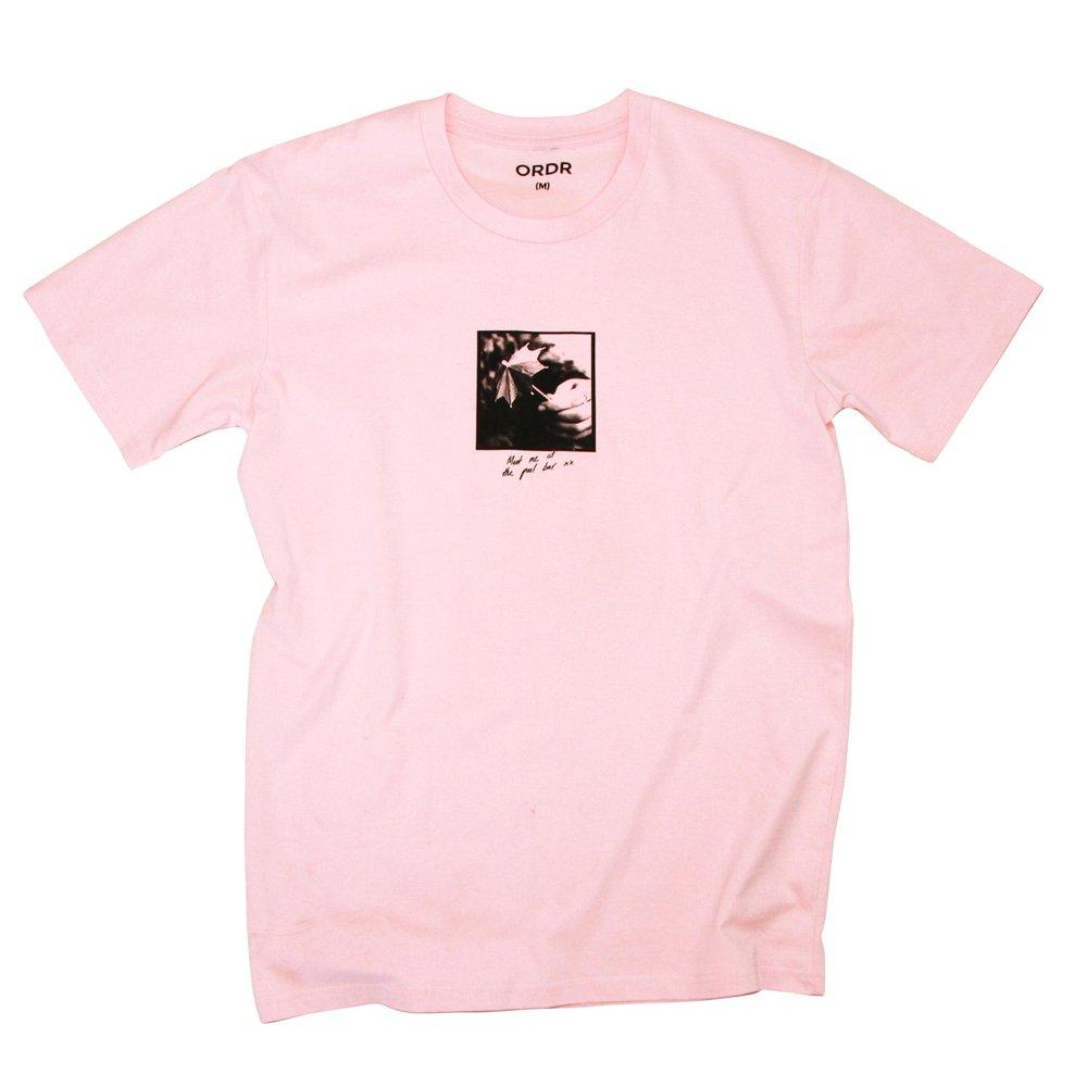 Ordr Co 'Pool Bar - Pale Pink' Tee - LAST ONE!!!