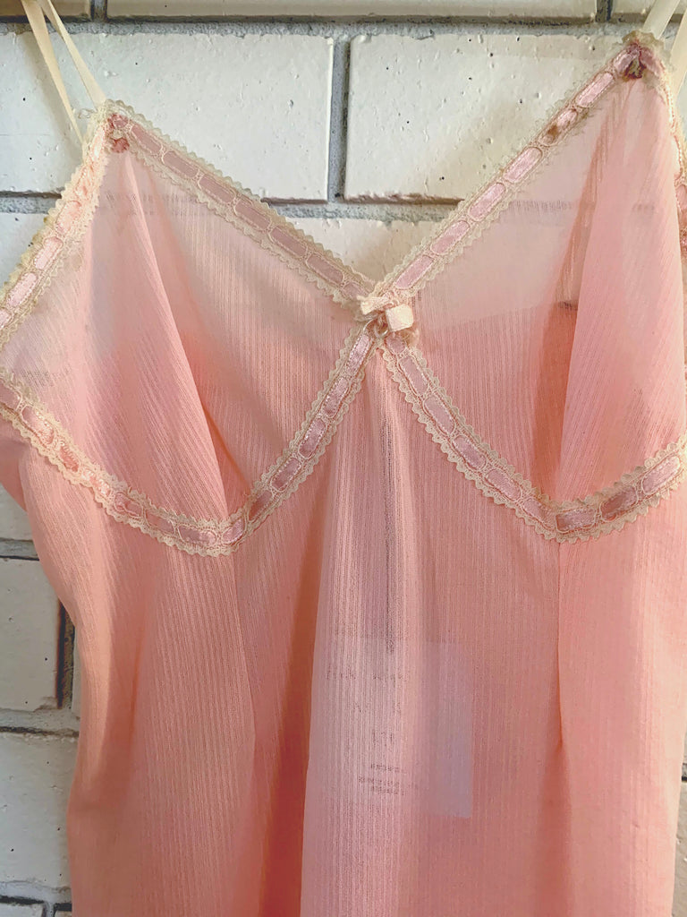 Pink Nightie As Is Size Small
