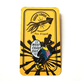 Squid Lords - Squid Lords 'West Coast' Pin - Patches & Pins - Stock & Supply Stores