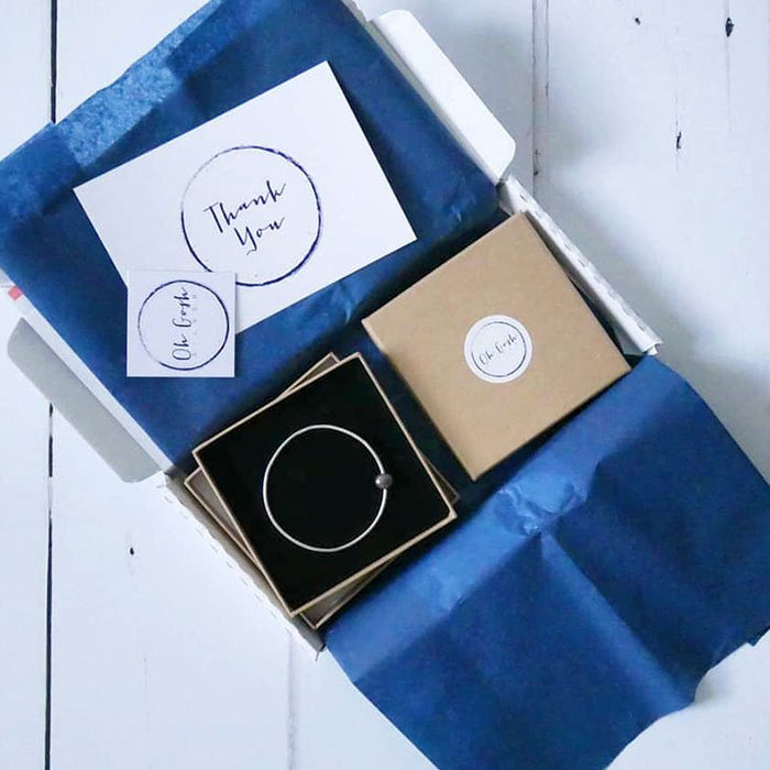 beautiful postal packaging for jewellery