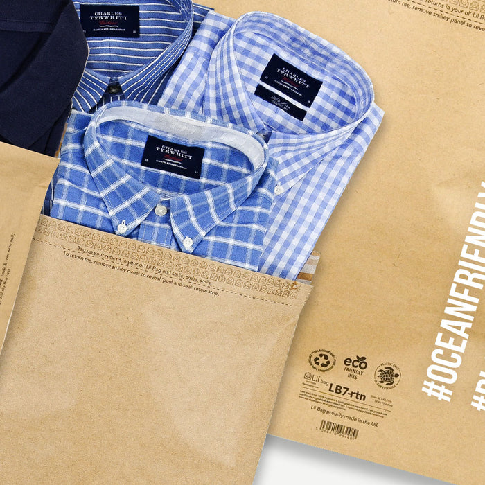 Eco Friendly Paper mail Bags for plastic free online business