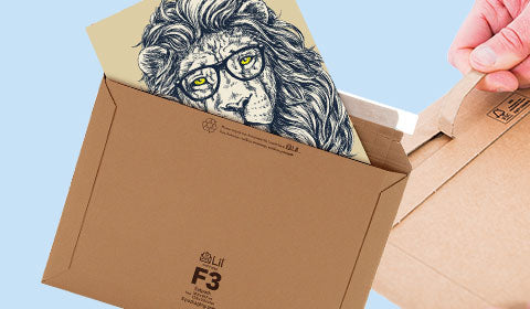 strong corrugated cardboard envelopes for illustrations, artwork, drawings unbendable envelopes