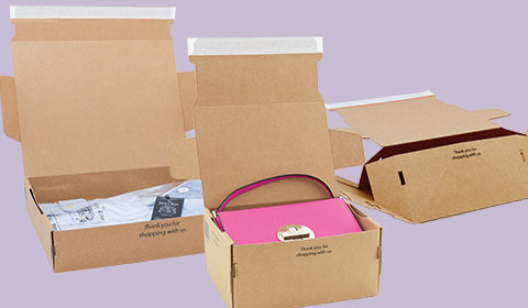 Lil Packaging mail box - postal boxes with pop up bases - as used by drop dead, samsung, beauty bay, ugg, deckers and more
