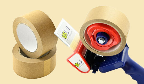 eco friendly kraft paper tape 100% natural packaging tape
