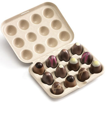 Hotel Chocolat plastic free packaging compostable and recyclable
