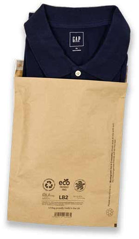 Eco Friendly Plastic Free Mail Bag for Slow Fashion Brands