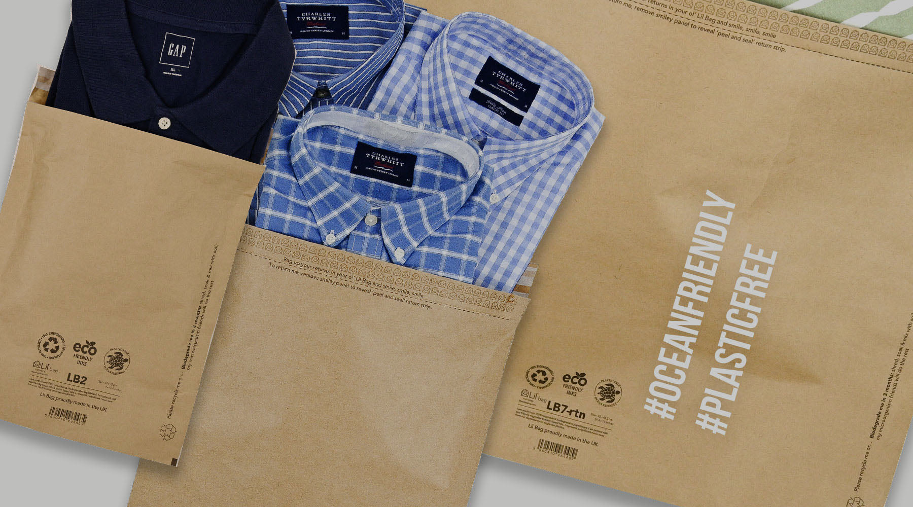 Eco friendly postal packaging mail bags postal sacks made from kraft paper