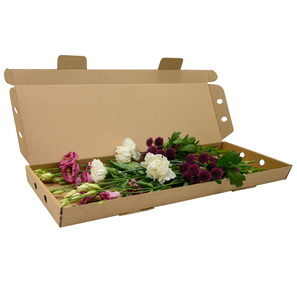 Letterbox sized Packaging for flowers