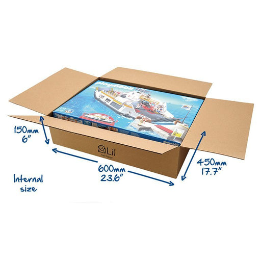 G30 Singled Walled Large Cardboard Boxes