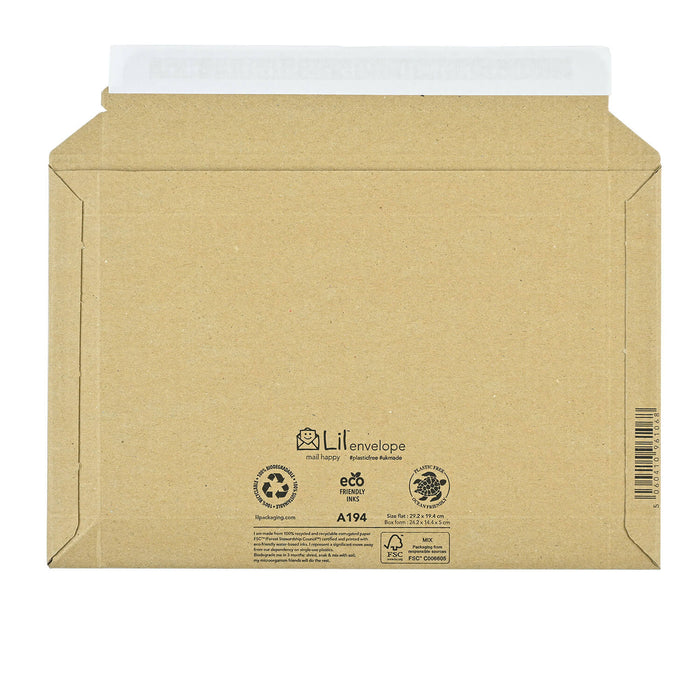 a194 amazon style envelope easy simple plastic free