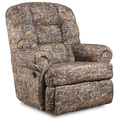 Big and Tall 350 lb. Capacity Camouflaged Encore Conceal Brown Fabric Recliner