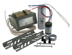 HID CWA, mBallast Kit, 400 Watt, S51 High Pressure Sodium Lamp, 120/208/240/277Vac, 60Hz, HPF, with Bracket, Round Ignitor, Round Dry Film Capacitor, Model CLU0400H04912 M (Replaces Model CLU0400H04912)