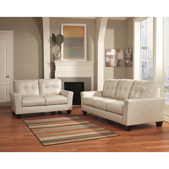 Benchcraft Paulie Living Room Set in Taupe DuraBlend